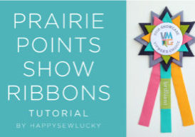PRAIRIE POINTS SHOW RIBBON