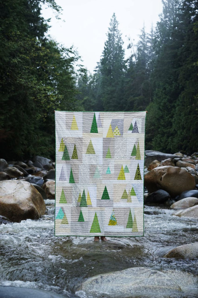 I SEE TREES OF GREEN: Made by Berene Campbell for BC landscaper friend.#treesofgreenquilt